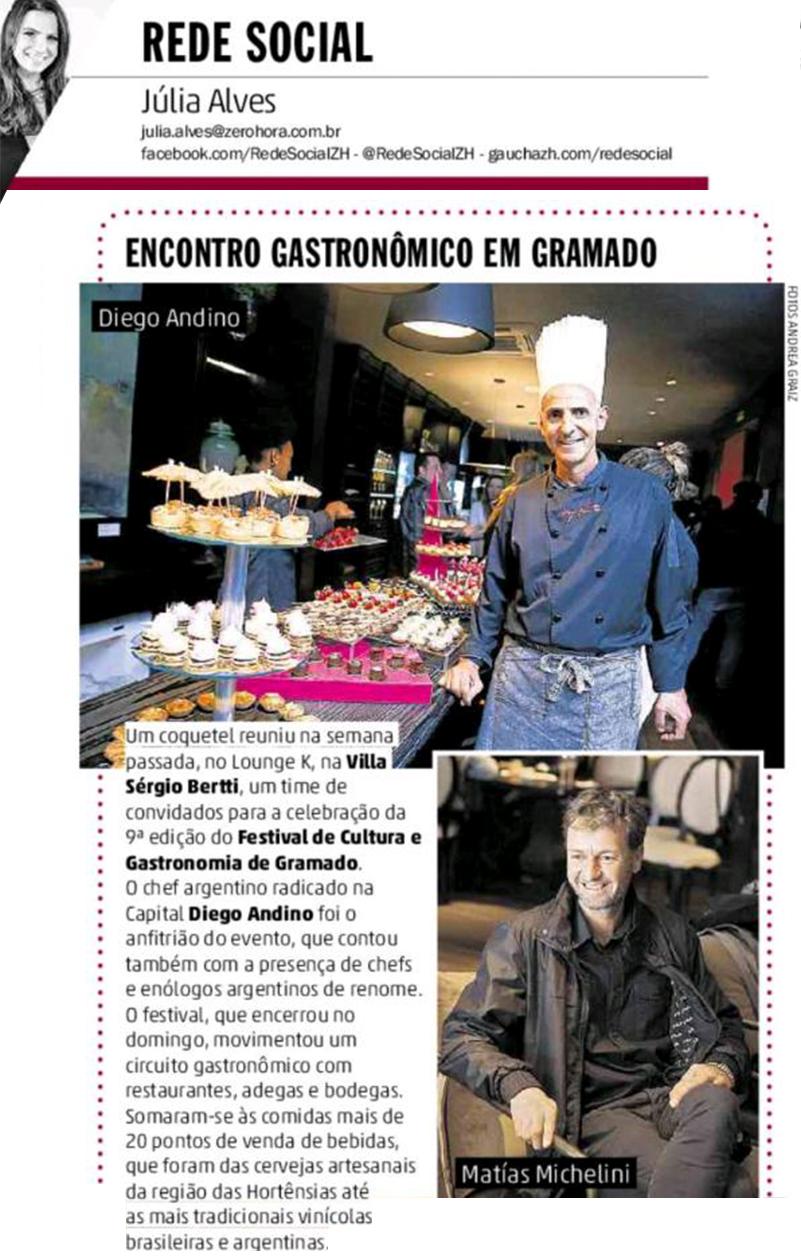 9º Festival de Gastronomia - Gramado